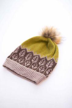 Ravelry: Land of leaves hat / Løvverklue pattern by Marianne J. Bjerkman