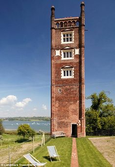 Reaching new heights: Freston Tower Freston Tower is a six-storey Tudor folly that looks out over the River Orwell