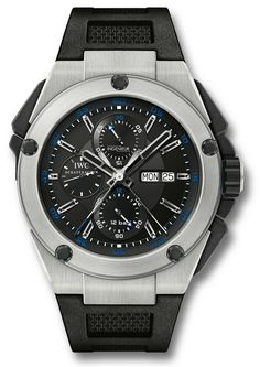 IW376501  NEW IWC INGENIEUR DOPPELCHRONOGRAPH MENS WATCH   Usually ships within 8 weeks  - FREE Overnight Shipping- NO SALES TAX (Outside California)- WITH MANUFACTURER SERIAL NUMBERS- Black Dial - Chronograph