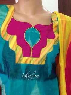 Neck line Design Latest Salwar Kameez Designs, Salwar Neck Designs, Saree Blouse Neck Designs, Choli Designs, Kurta Designs Women, Blouse Designs, Chudidhar Neck Designs, Neck Designs For Suits, Neckline Designs