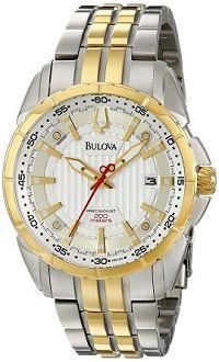#Watches Bulova Men's 98B169 CAMPTON Two-Tone Bracelet Watch