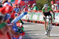 Vuelta a España 2014 - Stage 11: Pamplona - San Miguel de Aralar (Navarre) 153.4km - #LaVuelta #LaVuelta2014 #Vuelta #Vuelta2014 #VueltaEspana - Robert Gesink (Belkin) sprints to the line
