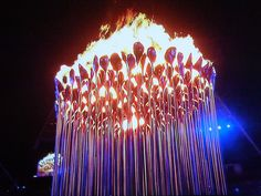 Iconic olympics image from London 2012