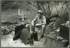 Harlingen (vicinity), Tex. Migrant worker sitting in front of fire. He lived with two other men workers http://www.loc.gov/pictures/resource/ds.01035/