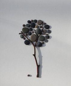 Живые картины из камней