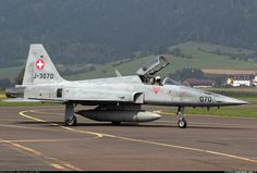 A Swiss Air Force TigerII posing on the taxiway, after its display during at Zeltweg Air Base. - Photo taken at Zeltweg (LOXZ) in Austria on September View Photos, Great Photos, Swiss Air, Old Planes, Tiger Ii, Freedom Fighters, Austria, Belgium, Planes