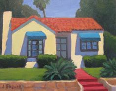 House on Cota Street by Jennifer Boswell