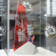BRP Rotax: a designer trophy for the winners at Nola