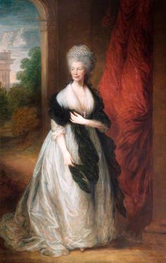 Queen Charlotte (1744-1818)Thomas Gainsborough (1727-1788) (after) Abingdon Guildhall