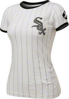 Chicago White Sox Women's White/Black Remote Control T-Shirt