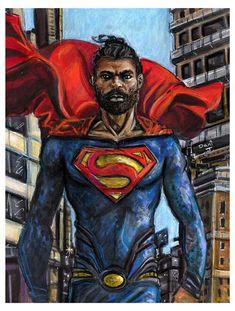 Art by Dani J Superman Drawing, Superman Art, Man Of Steel, Tutorials, Fan Art, Drawings, Fictional Characters, Inspiration, Image