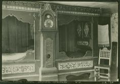 Interior with beds from Buskerud.