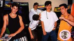 Nkotb 1989 - I had this one on my wall.