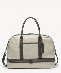 09d4317c68 Sole Society - Mason Canvas Weekender - duffel - Material  Faux Leather  Height  13