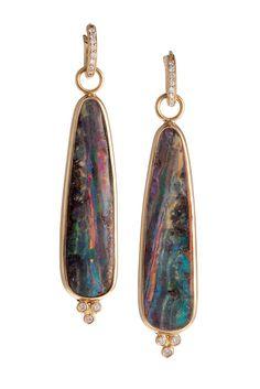 Erica Courtney Opal Earrings