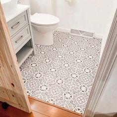 Stair Riser Vinyl Strips Removable Sticker Peel & Stick for 15 steps Tile Stickers Kitchen, Vinyl Flooring Kitchen, Kitchen Vinyl, Linoleum Flooring, Kitchen And Bath, Dutch Kitchen, Cottage Style Bathrooms, Chic Bathrooms, Bathroom Floor Tiles