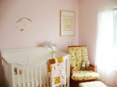 very light pink paint color – Silk Sheets by Valspar