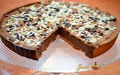 Reteta culinara Tarta cu ciocolata (video) din categoria Dulciuri. Specific Marea Britanie. Cum sa faci Tarta cu ciocolata (reteta video)