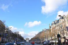 The Avenue des Champs-Elysées in 2012