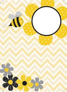 SGBlogosfera. María José Argüeso Binder Covers Free, Buzz Bee, Bee Cards, Mellow Yellow, Kindergarten, Crafty, Frames, Baby, Ideas