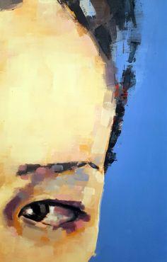 thomas donaldson (eye study (detail) oil on canvas, 146x120cm)