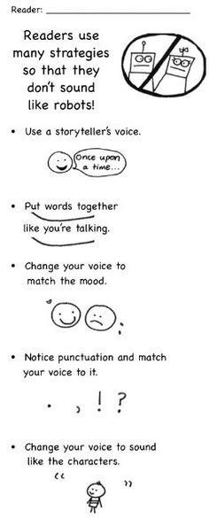 Reading strategies.