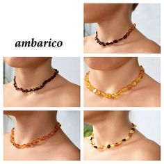 Collares de ambar baltico para bebes, niños Ebay, Chain, Jewelry, Fashion, Certificate, Amber Necklace, Short Necklace, Pendants, Jewels