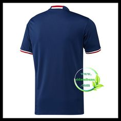 Fotballdrakter Olympique Lyonnais Bortedraktsett 2016-2017 Lyonnaise, Mens Tops, T Shirt, Fashion, Moda, Tee, Fasion, Trendy Fashion, Tee Shirt