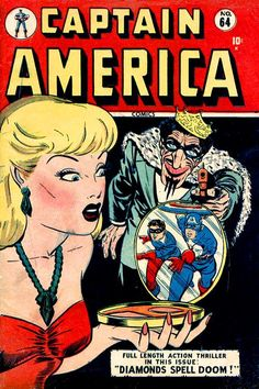 Captain America Comics # 64 by Al Avison & Syd Shores