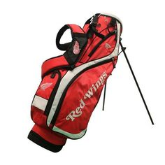Detroit Red Wings Nassau Stand Golf Bag