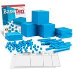 Plastic Base Ten Place Value Set - Learning Resources®
