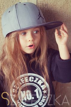 .thru the eyes of little ones...would be cute wearing daddies hat!!