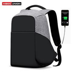 d10aed8399e20 Multifunction USB charging Men 15inch Laptop Backpacks For Teenager Male  Mochila Leisure Travel backpack anti thief - ALWAYS CHEAPER