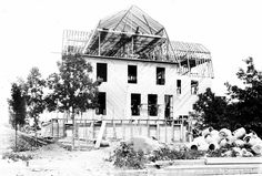 Idylease Under Construction Summer of 1902 Under Construction, Newfoundland, Hotels And Resorts, Louvre, Architecture, Gallery, Building, Summer, Pictures
