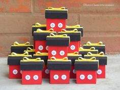 Mini caixas michey
