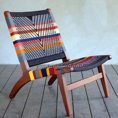 Woven Manila Lounge Chair San Geronimo design with a Rosita Walnut frame. All our chairs are hand woven, as well as handmade from sustainably harvested tropical hardwood. We plant 100 trees for every item sold. Retro Home Decor, Easy Home Decor, Handmade Home Decor, Cheap Home Decor, Hardwood Furniture, Plywood Furniture, Furniture Design, Furniture Removal, Lounge Furniture