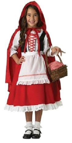 Little Red Riding Hood Costume - Medium. Elite Little Red Riding Hood Child Costume. (width: (height: hundredths-inches. Little Red Riding Hood Halloween Costume, Halloween Costumes For Girls, Halloween Fancy Dress, Girl Costumes, Halloween Kids, Animal Costumes, Costume Ideas, Costumes Kids, Cosplay Costumes