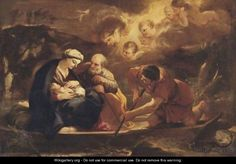 Flight Into Egypt - Luca Giordano