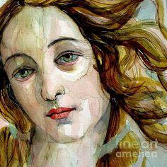 """Birth Of Venus"" painting by Paul Lovering"