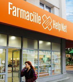 Brandient – Visual identity for Help Net pharmacies