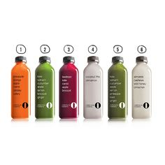 cold-pressed juices at Lifestyle Juicery - Asia's leader in pressed juicery