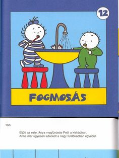 Anna Peti - Fogmosás mese Preschool Bible, Document Sharing, Anna, Petra, Kindergarten, Teaching, Comics, Books, Fictional Characters
