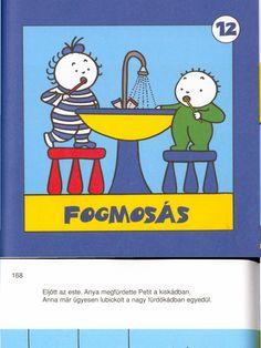 Anna Peti - Fogmosás mese Preschool Bible, Document Sharing, Anna, Petra, Kindergarten, Pdf, Teaching, Comics, Books
