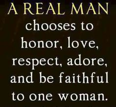 So true , thankful I have a faithful man