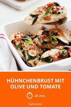 Hühnchenbrust mit Olive und Tomate - smarter - Zeit: 25 Min. | eatsmarter.de