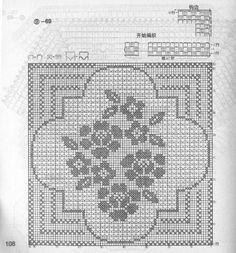 Kira scheme crochet: Scheme crochet no. 1567