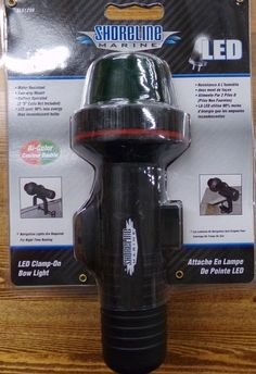 Shoreline Marine LED Bi-Color Clamp-On Bow Light NEW Water Resistant SL51290 #SHORELINEMARINE