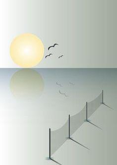 Low tide af MyRo Graphics