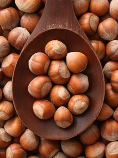 Hazelnuts... hazelnut coffee... Nutella... hazelnut-anything, really... ;) YUM!!! <3