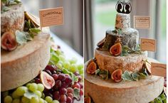 *Cheese wheel wedding cake, either in the place of or in addition to a traditional wedding cake